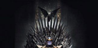 Equipo de Avengers fan de Game of Thrones