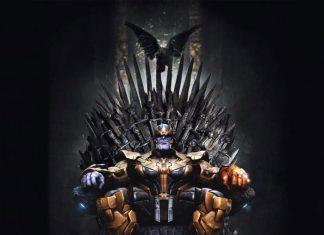 Equipo de Avengers fan de Game of Thrones