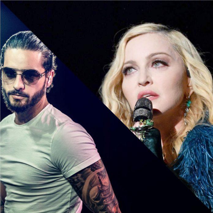 Madonna y Maluma nueva colaboración.