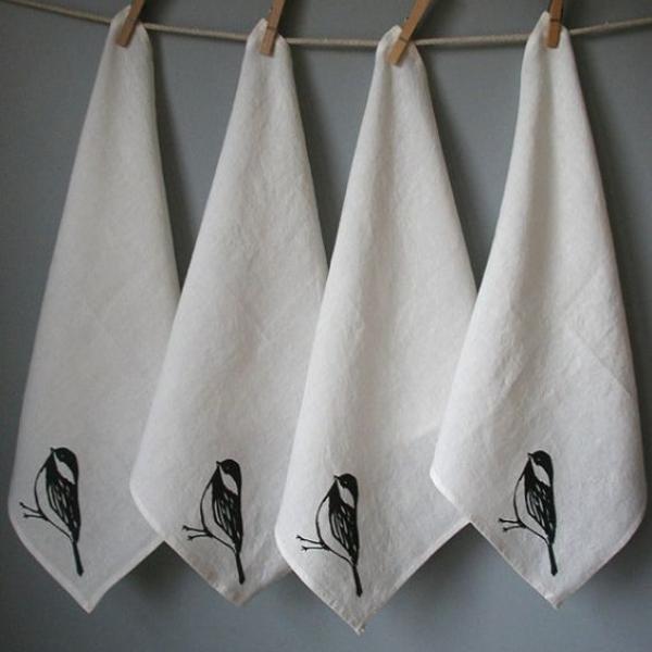 servillestas de tela para usar en vacaciones