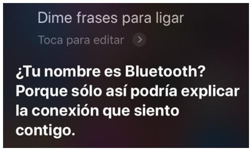 Preguntas interesantes a Siri)