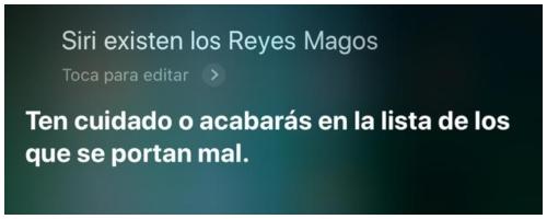 Preguntas interesantes a Siri.