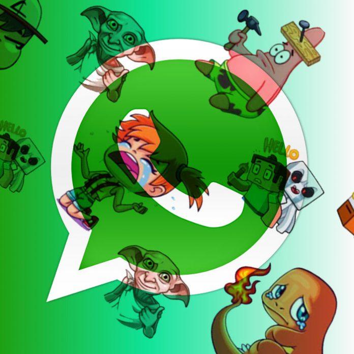 Club del Sticker en Whatsapp para mandar stickers.