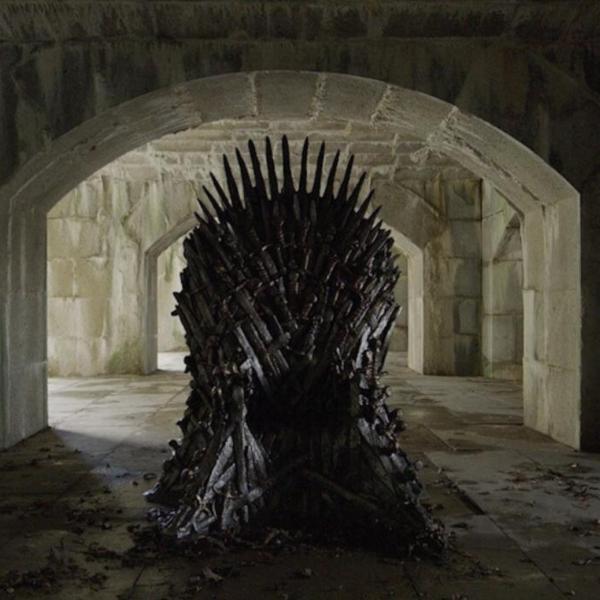 trono de hierro en games of thrones
