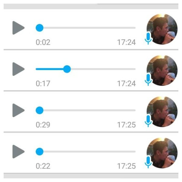 Audios WhatsApp