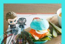 Avengers: Endgame cafetería.