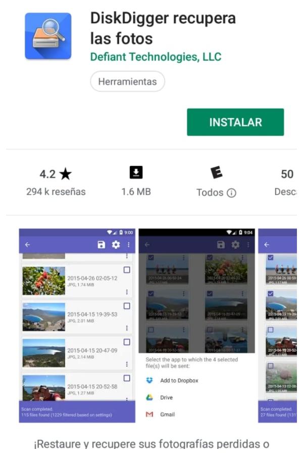 Cómo recuperar imágenes en WhatsApp