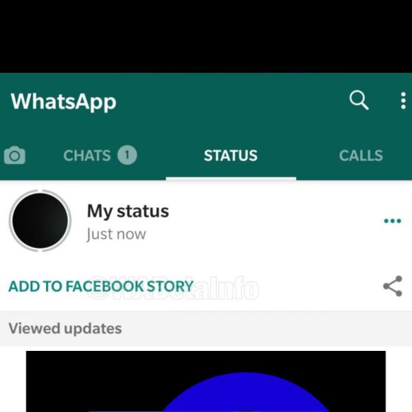estados de whatsapp en historias de facebook