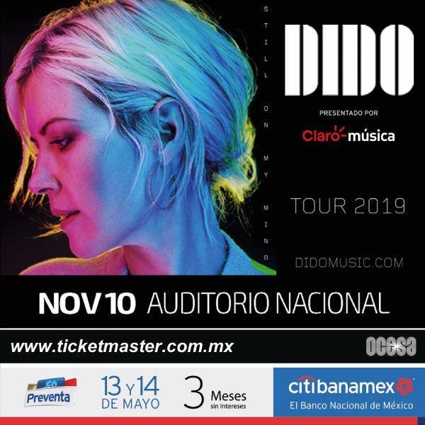 Dido concierto México.