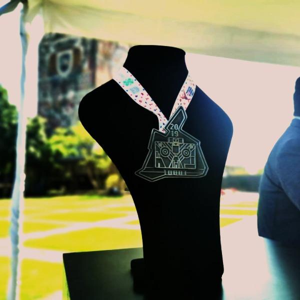 medalla del maraton de la cdmx