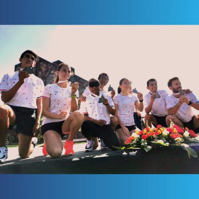 playera maraton de la ciudad de mexico