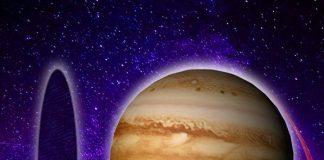 Agujero negro del tamaño de Júpiter