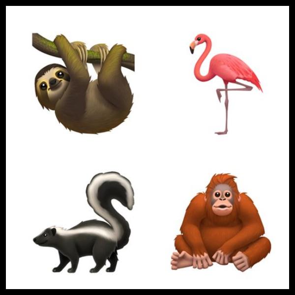emojis animales