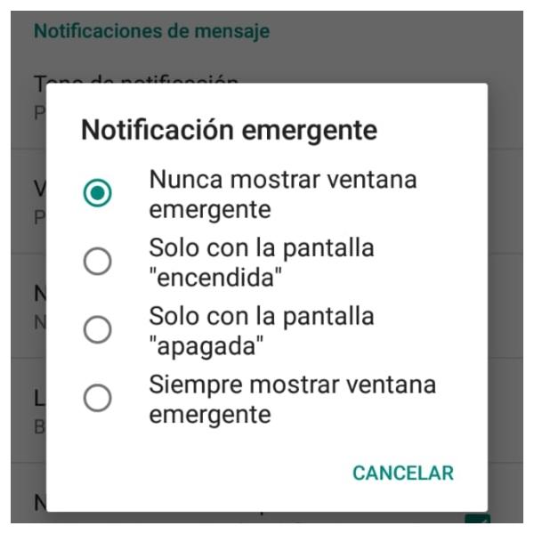 Cómo abandonar grupos de WhatsApp