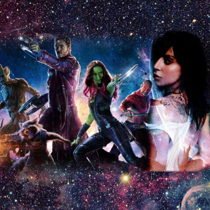 Lady Gaga en Guardianes de la Galaxia Vol 3.