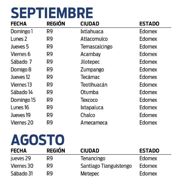 Gira Amigo Telcel 2019
