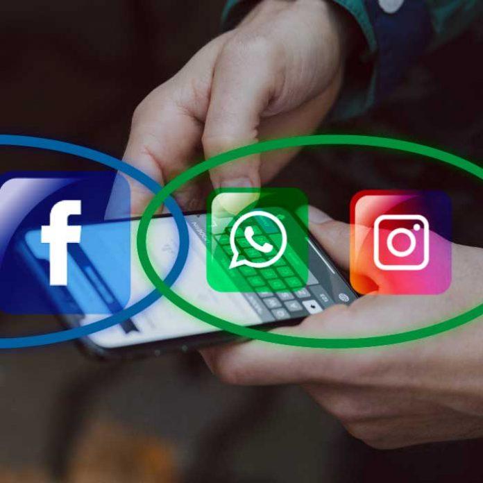 Facebook cambio de nombre Instagram y WhatsApp