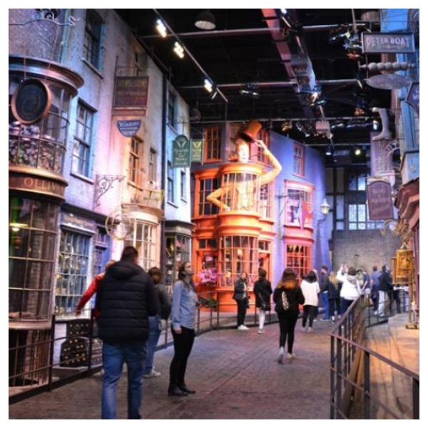Google Maps callejón DIagon Harry Potter