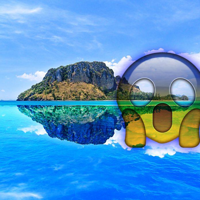 Isla que aparece y desaparece