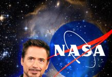 Robert Downey Jr. trabajando con la NASA