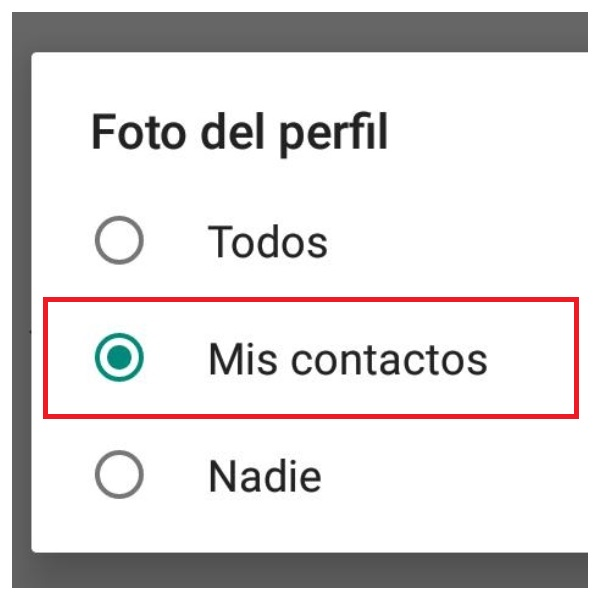 Cómo ocultar tu foto de perfil de WhatsApp