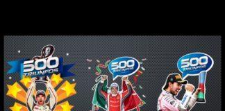 ¡Memo Rojas le da los 500 TRIUNFOS a la Escudería Telmex Telcel y tú también puedes celebrar!¡Memo Rojas le da los 500 TRIUNFOS a la Escudería Telmex Telcel y tú también puedes celebrar!
