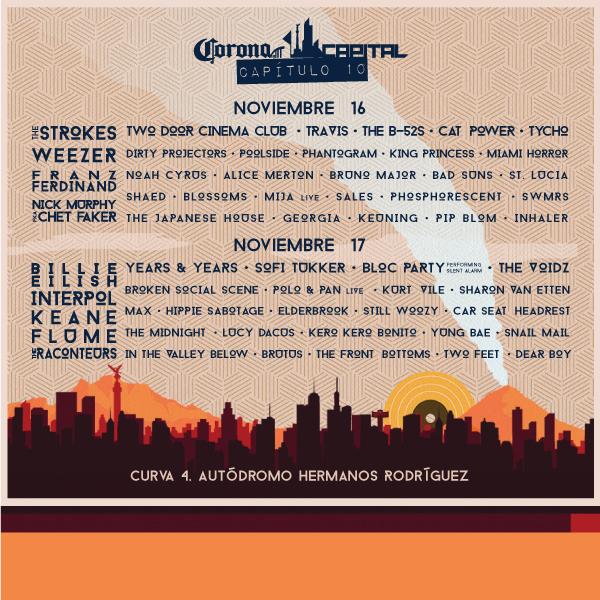 cartel corona capital 2019