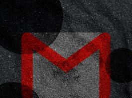 gmail en modo oscuro