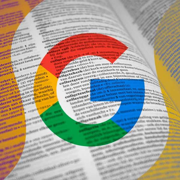 Diccionario Google Android