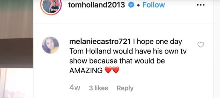 Tom Holland serie Spider-Man