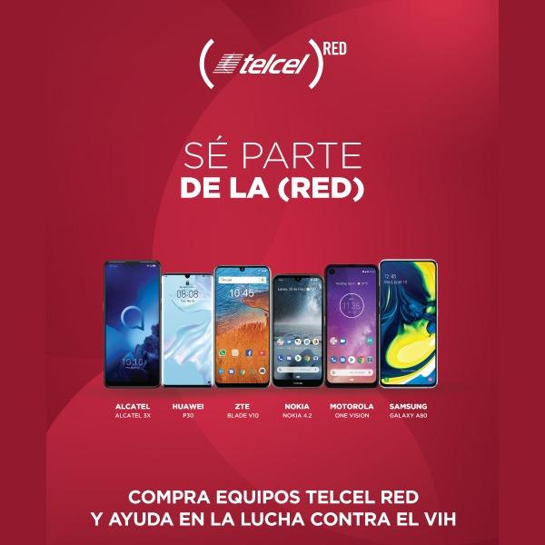 celulares telcel red