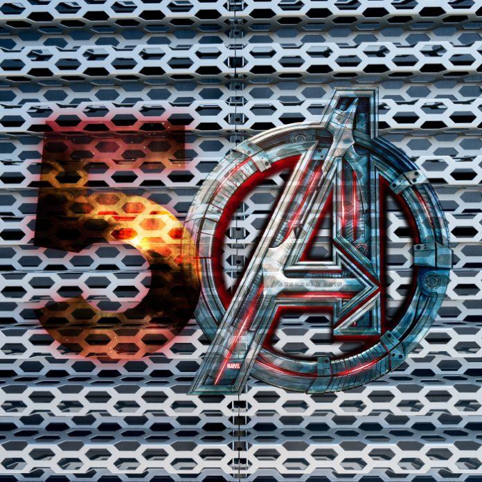 Avengers 5 Marvel 50 superhéroes