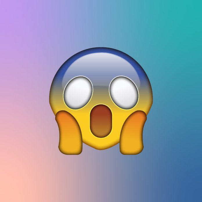 significado del emoji gritando de whatsapp