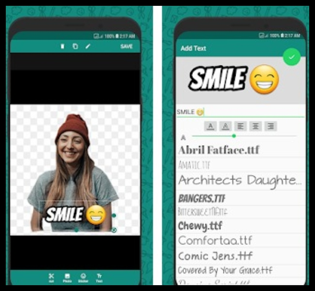 Apps para crear stickers WhatsApp