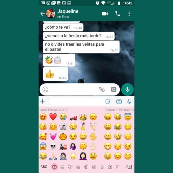teclado iphone en android