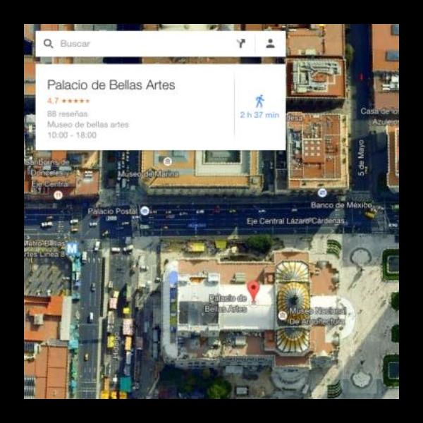bellas artes google maps (1)