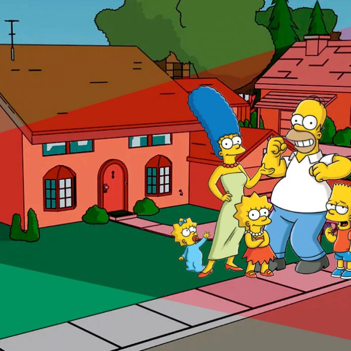 casa simpson en google maps