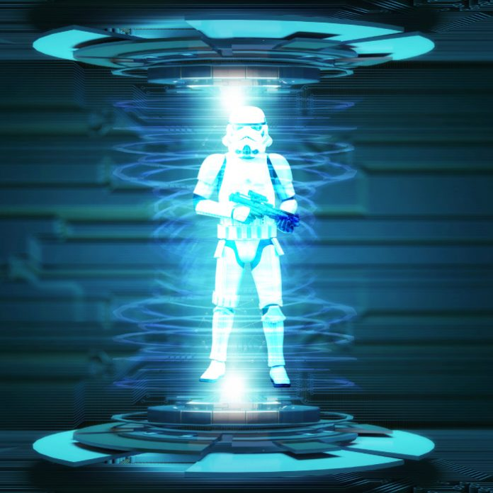 Holograma Star Wars