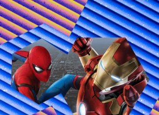 Reencuentro Iron Man y Spider-Man