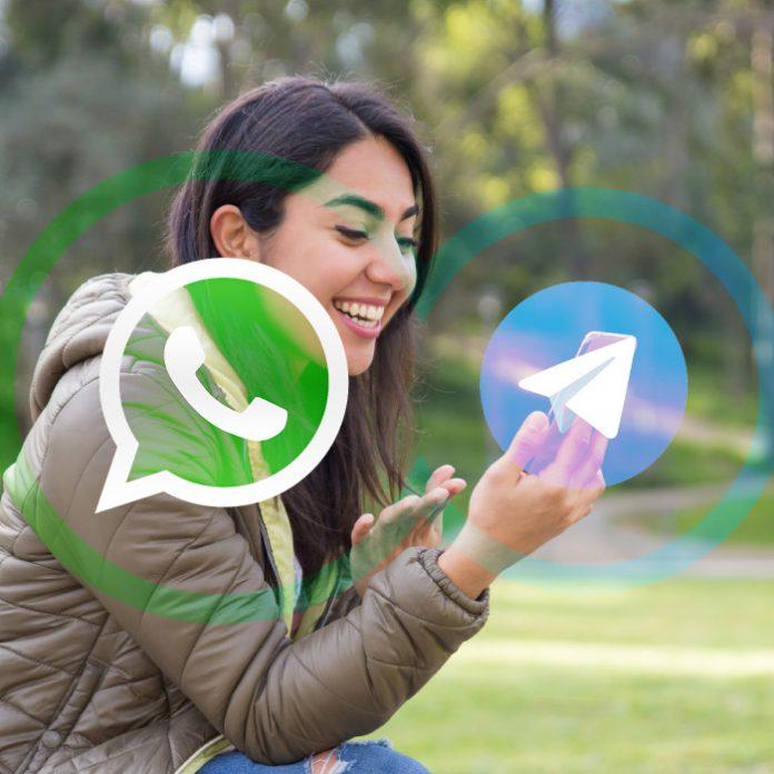 WhatsApp función Telegram