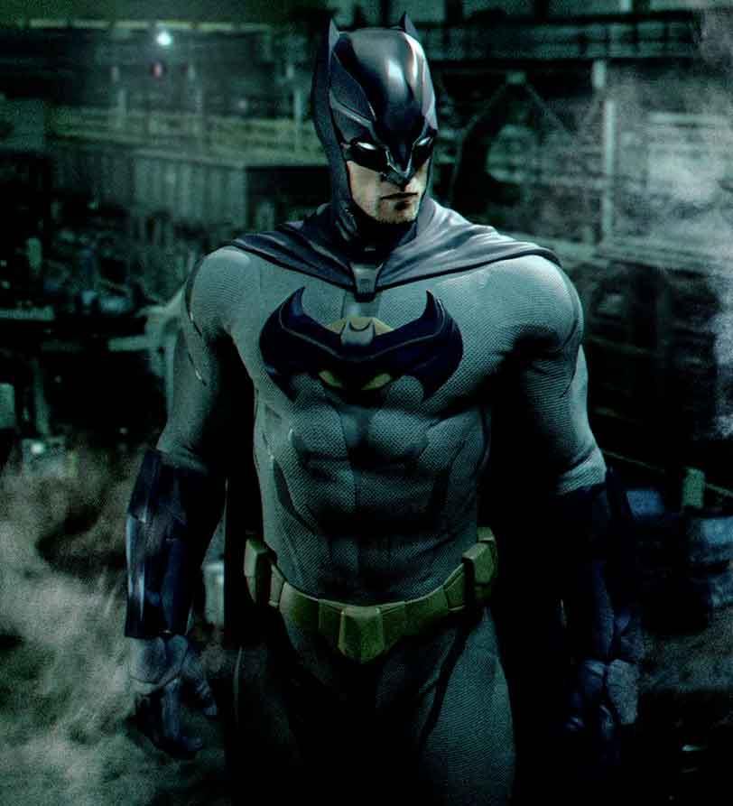 Robert Pattinson traje Batman