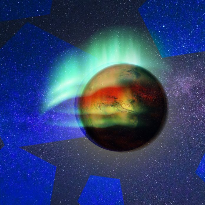 Auroras boreales Marte