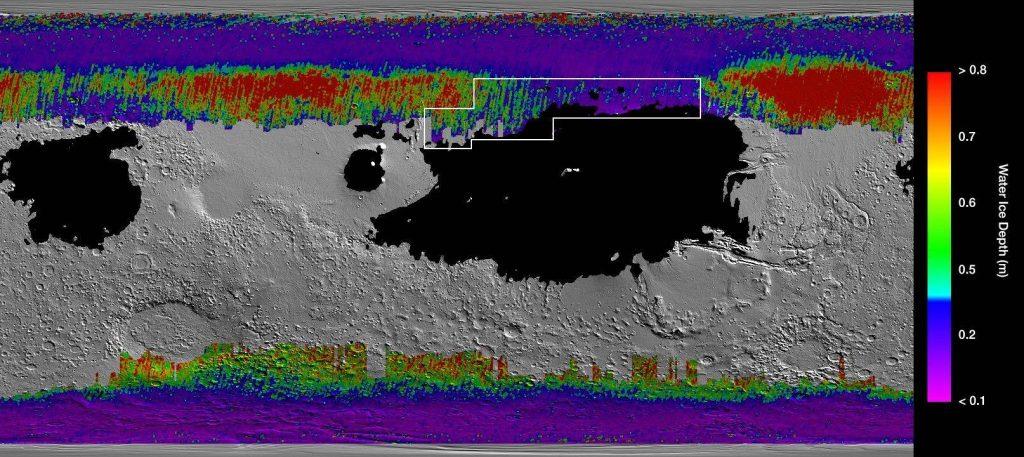 NASA encuentra agua en Marte