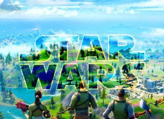 Fortnite escena Star Wars: El Ascenso de Skywalker