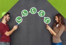 WhatsApp hablando más