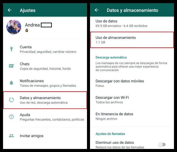 WhatsApp con quién platicas más