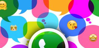 WhatsApp burbujas Messenger