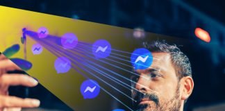 Facebook Messenger reconocimiento facial