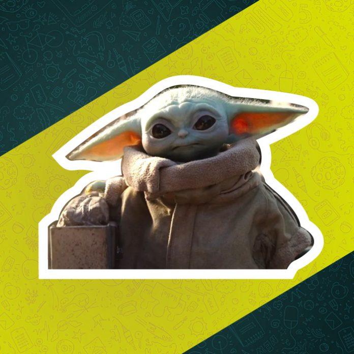 Baby Yoda stickers