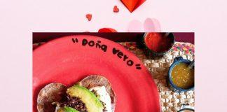 ¡Tacos en forma de corazón para celebrar el 14 de febrero!